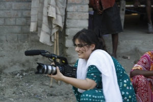 Sadia Filming - Laal Pari 2