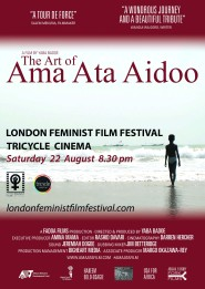 The Art of Ama Ata Aidoo LFFF Poster